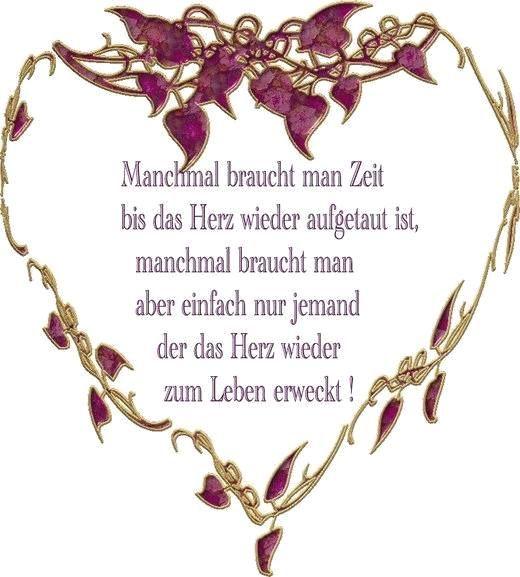 By Sprüche Die Zum Herzen Gehen