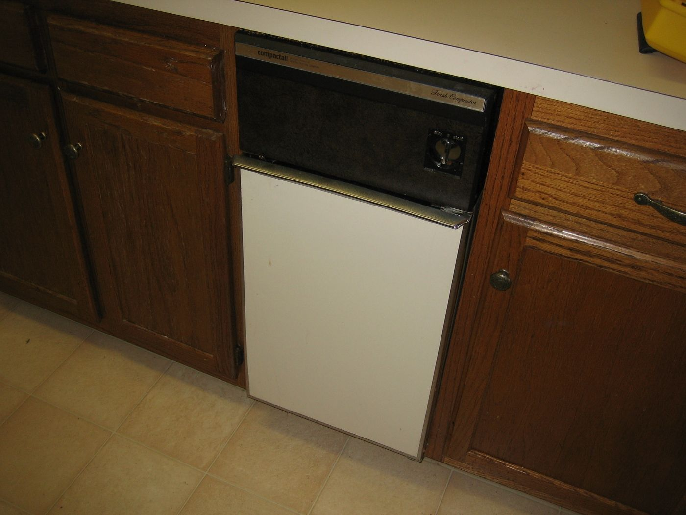 Kitchen Trash Compactor Cleveland Cabinets Compactors My Parents Still Use Theirs It 39s A
