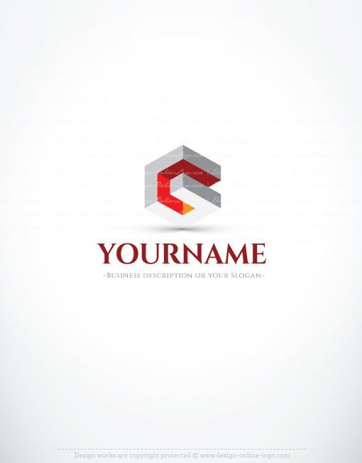 Exclusive Design: Abstract 3D company Logo FREE Business Card ...