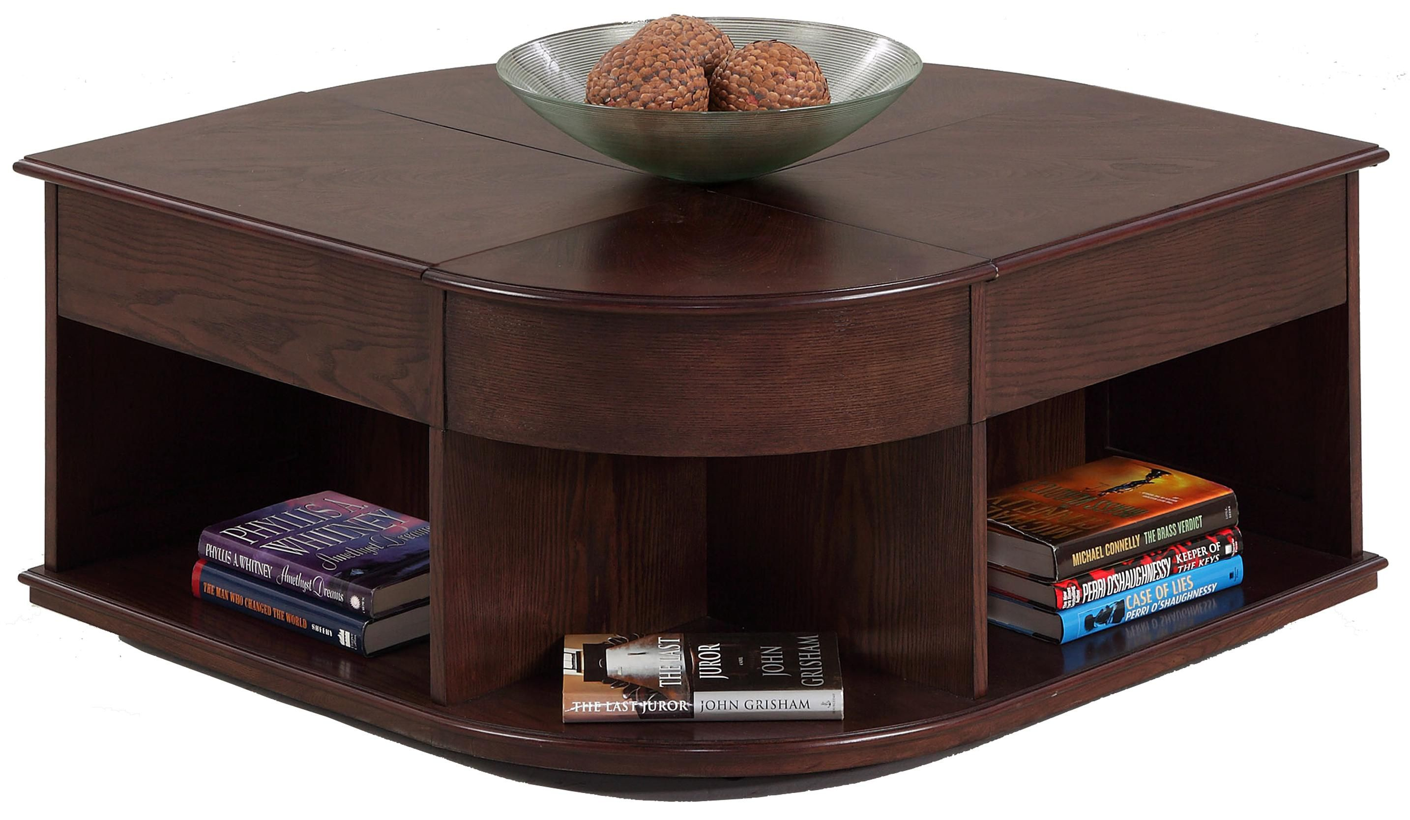 Sebring Castered Double LiftTop Cocktail Table by Progressive