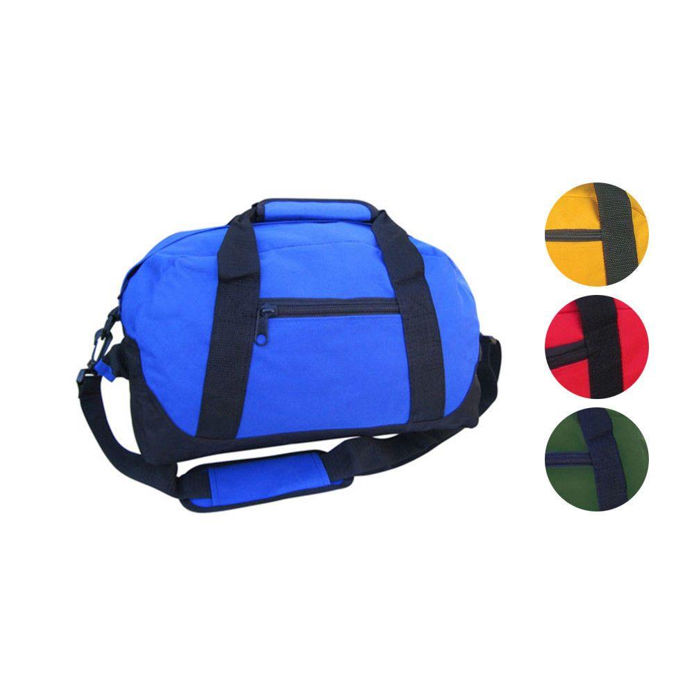 c6fda4196816 Sports Duffle Bags Two Tone 14 inch School Travel Gym Locker Carry On  Luggage