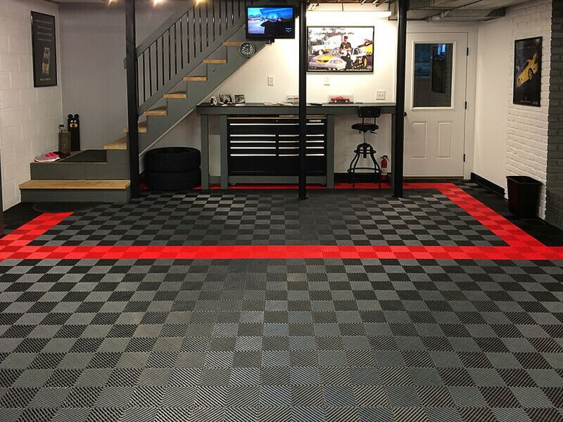 Basement Garage With Self Draining Free Flow Flooring A Href