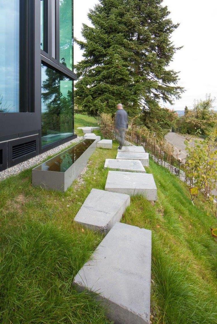 Chemin De Jardin En Pas Japonais 10 Idees D Amenagement