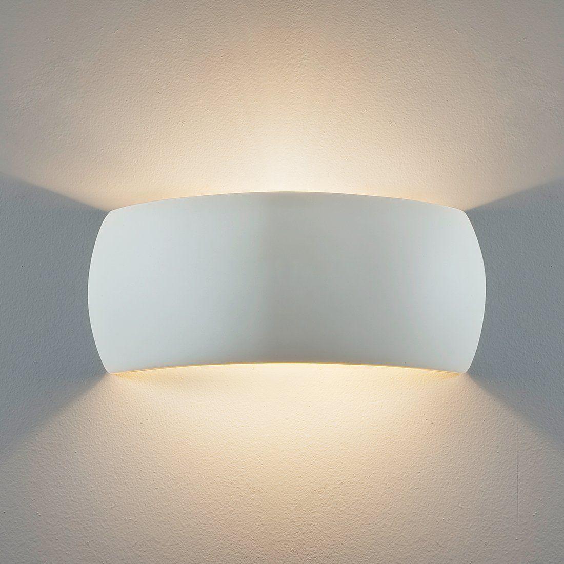 Astro Lighting 25 Milo 25 Light Ceramic Wall Light uplighter