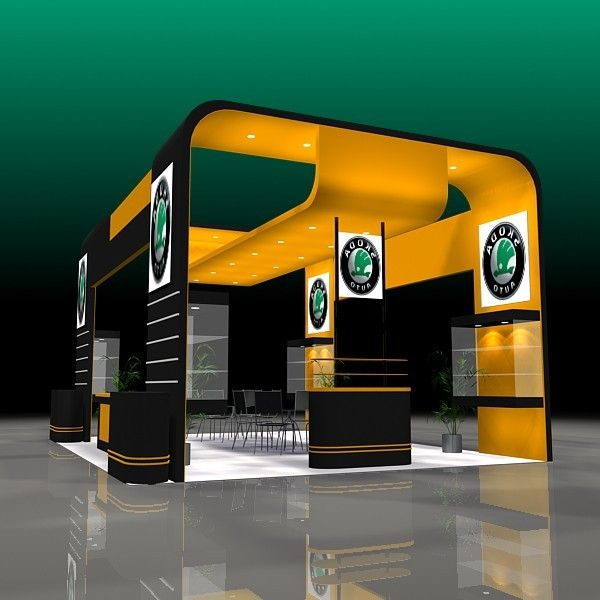 Exhibition Stand Design Programs : Model it in sketch up exhibit design booth design exhibition