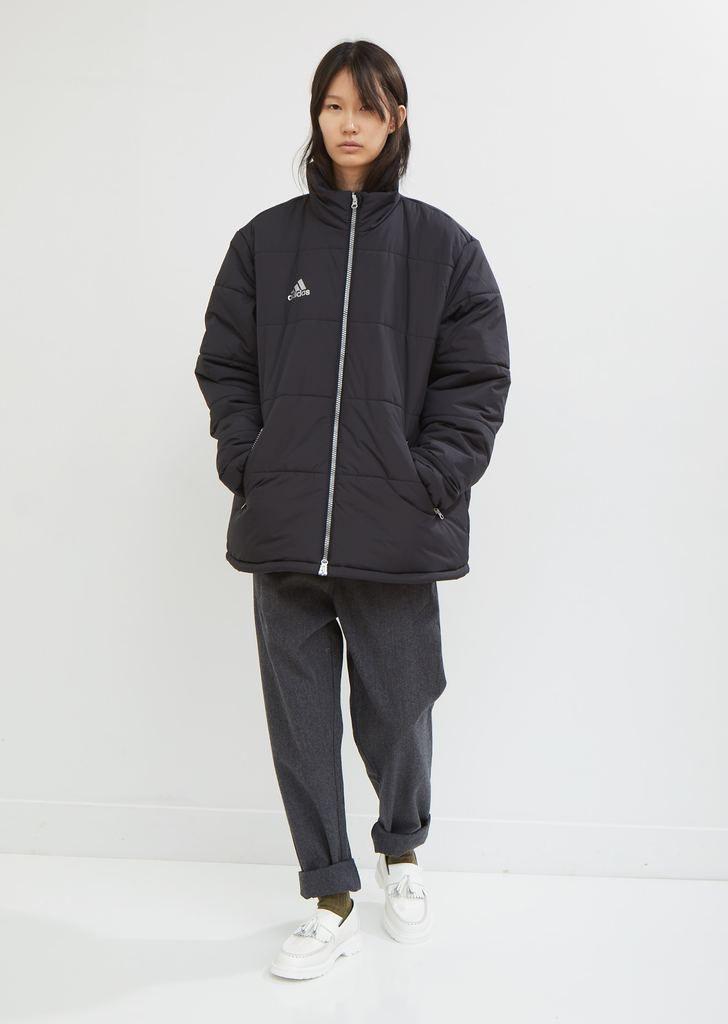 X Adidas Padded Jacket By Gosha Rubchinskiy La Garconne Sporty Jacket Jackets Padded Jacket