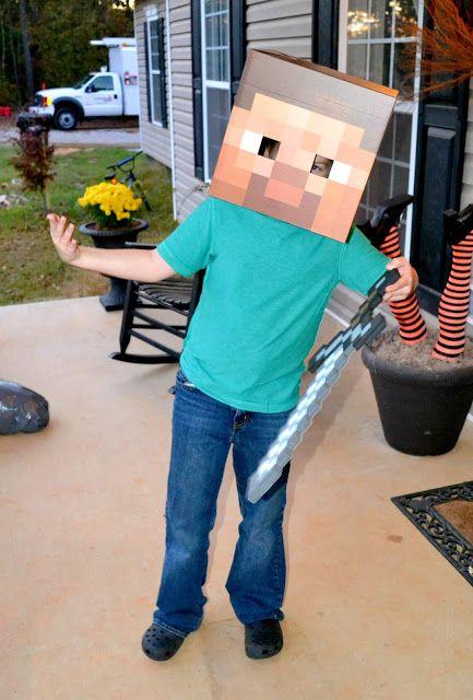 minecraft Minecraft pictures Pinterest Diy costumes, DIY - minecraft halloween costume ideas
