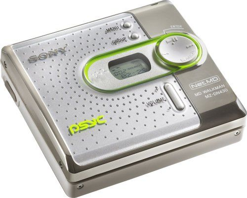 Sony Mz Dn430pswhi Psyc Minidisc Network Walkman White Walkman Sony Vintage Electronics