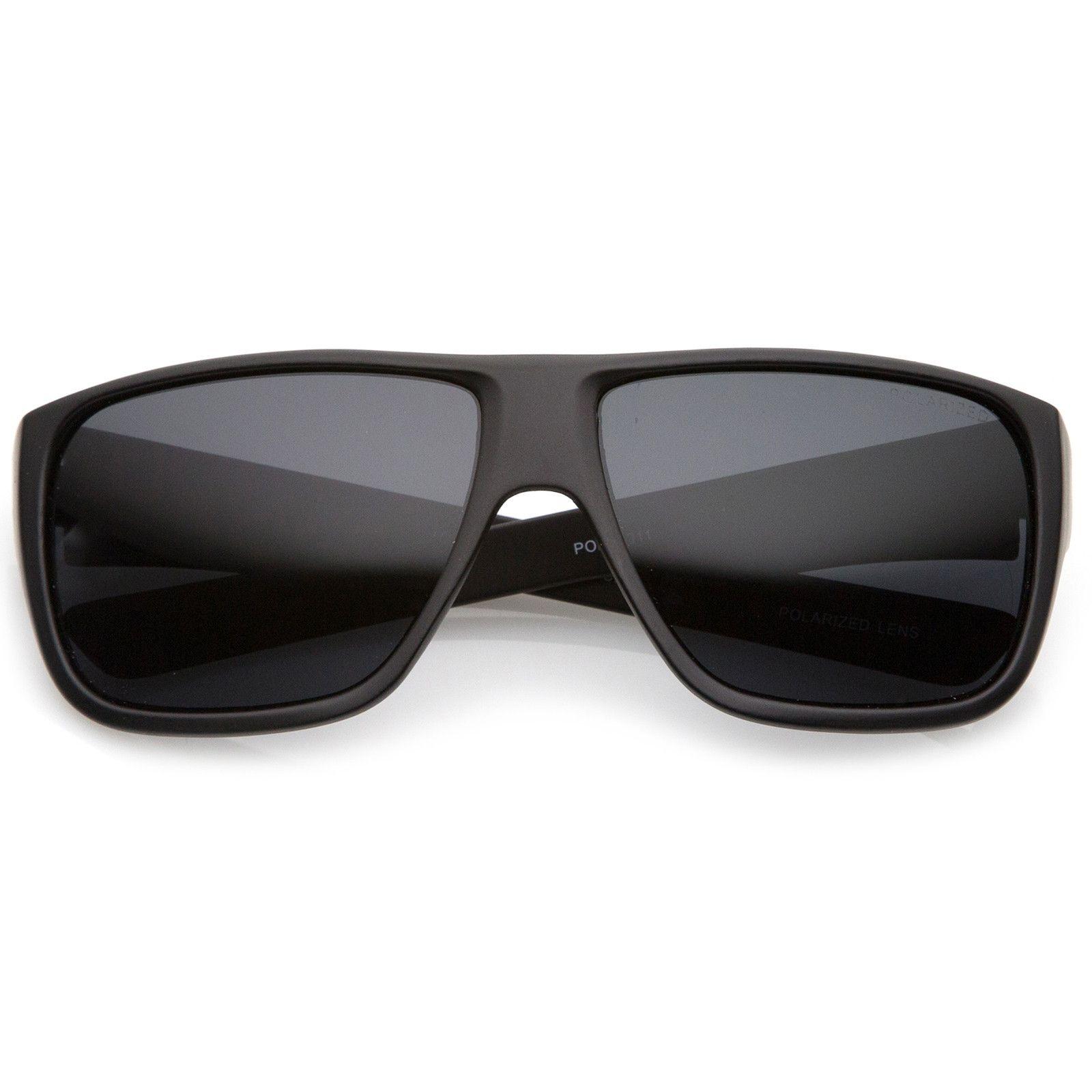 3599d38fd Men's Oversize Flat Top Wide Temple Polarized Lens Square Sunglasses 62mm  #bold #sunglasses #frame #sunglass #purple #oversized #womens #cateye  #mirrored # ...
