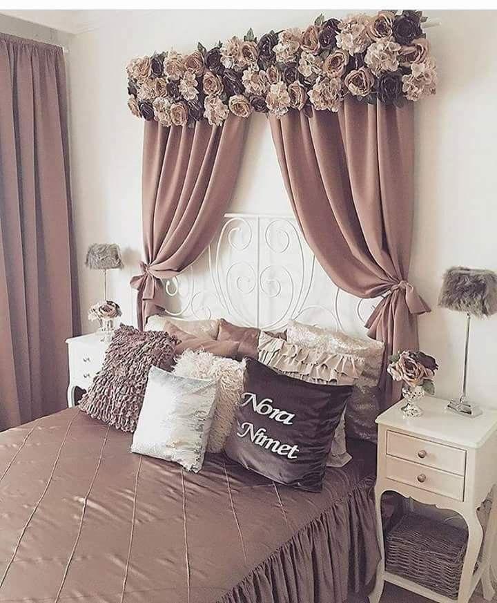 Pin de atli en new look for my room decoracion recamara cortinas dormitorio y decoraciones - Decoracion cortinas dormitorio ...