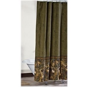 Browning Whitetails Shower Curtain Camo Curtains Curtains Camo Bathroom