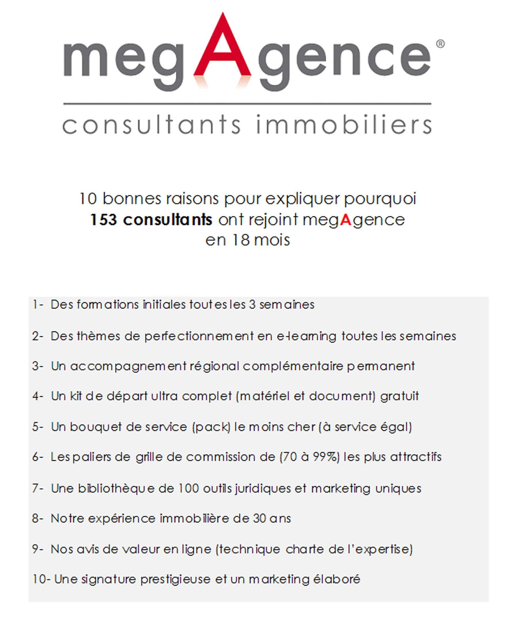 10 raisons de rejoindre megAgence !