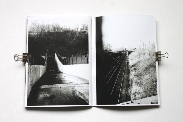 Found black and white photography zine by eberythingslive