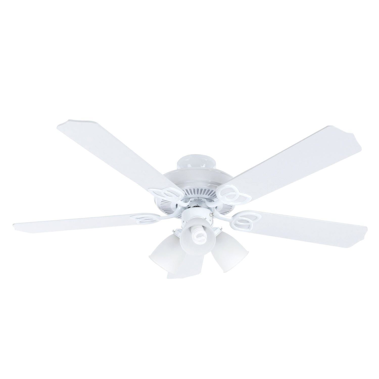 Hampton Bay Brookhurst 52 in White Ceiling Fan fans
