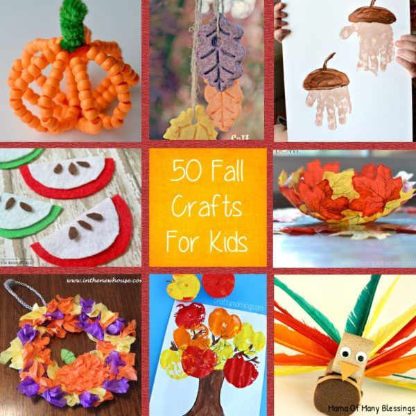 Good Different Craft Ideas For Kids Part - 12: Kids Craft Ideas For Fall That Are Awesome, Quick, And Easy