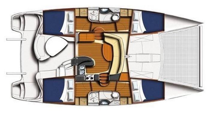 Leopard 40 Catamaran For Sale By Owner Moorings 4000 For