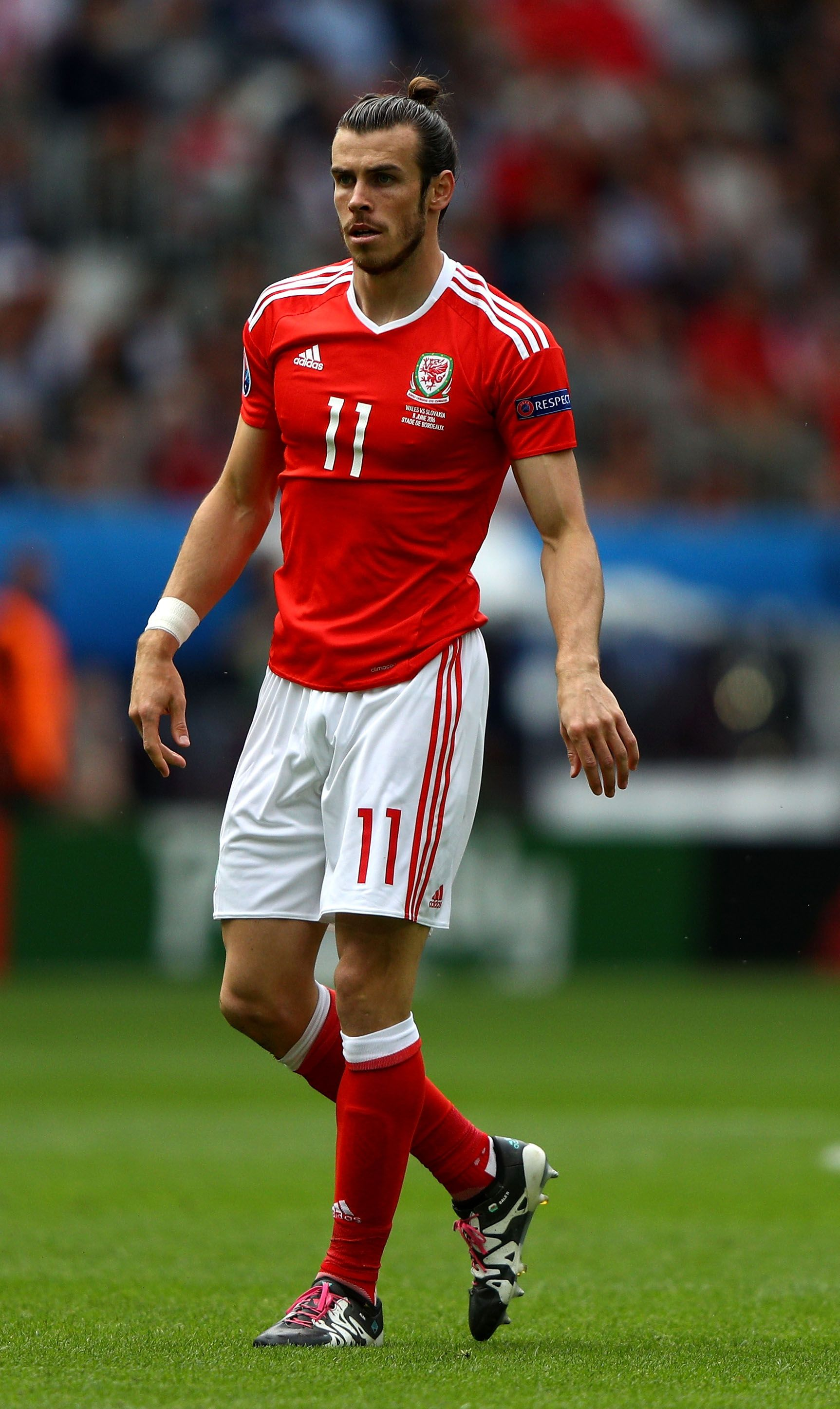 Bordeaux France June 11 Gareth Bale Of Wales Is Seen