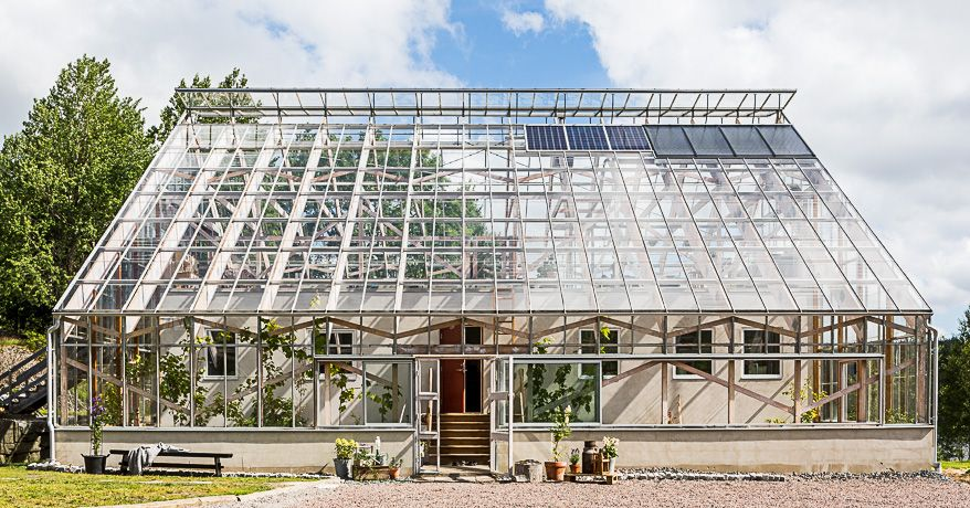 Extraordinary Swedish greenhouse home yours for $860K - Curbedclockmenumore-arrow : The glass abode creates a Mediterranean climate around a three-bedroom home