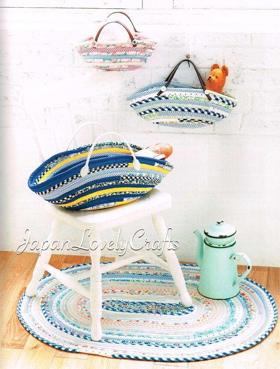 Kawaii French Style Bag & Zakka Patterns, Japanese Sewing Pattern ...