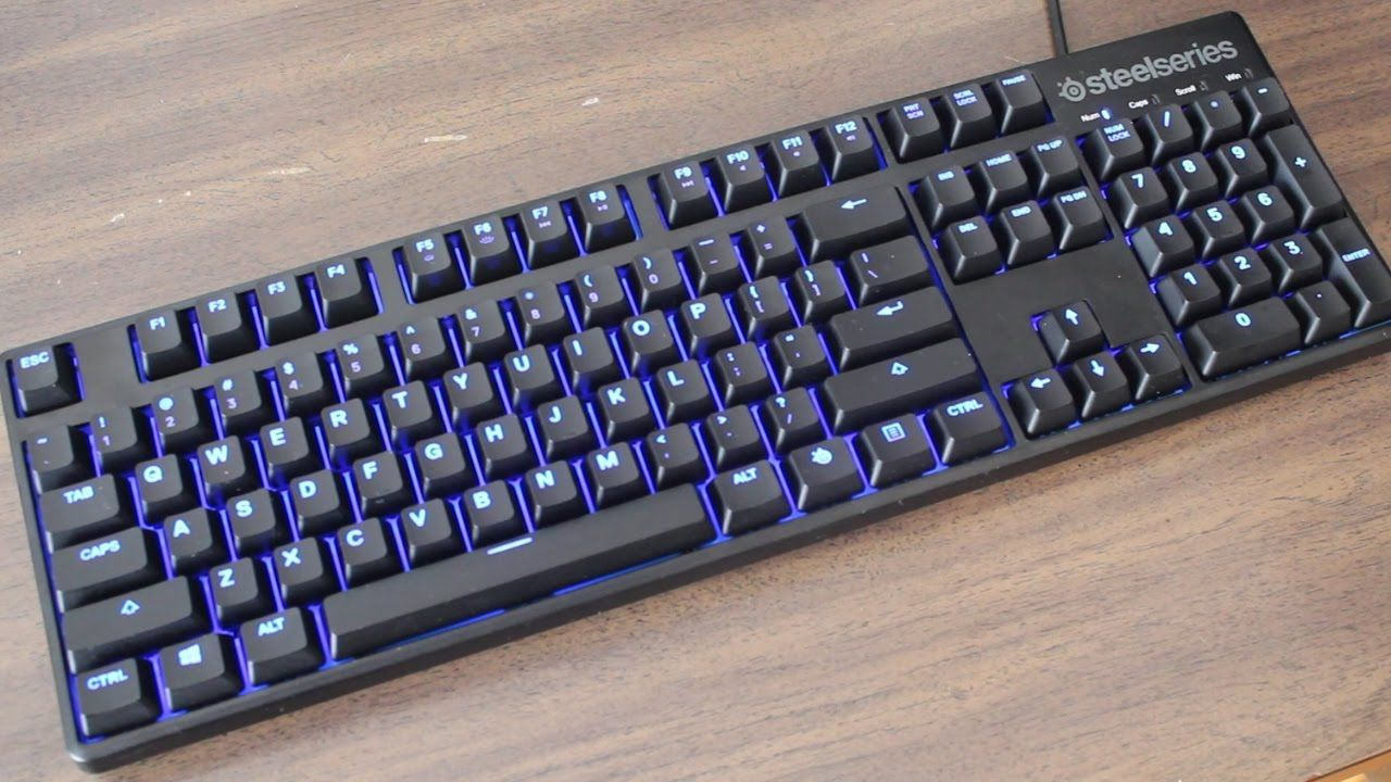 3311c6000ef SteelSeries Apex M500 Illuminated Mechanical Gaming Keyboard - Cherry MX  Red Switch - Blue LED Backlit