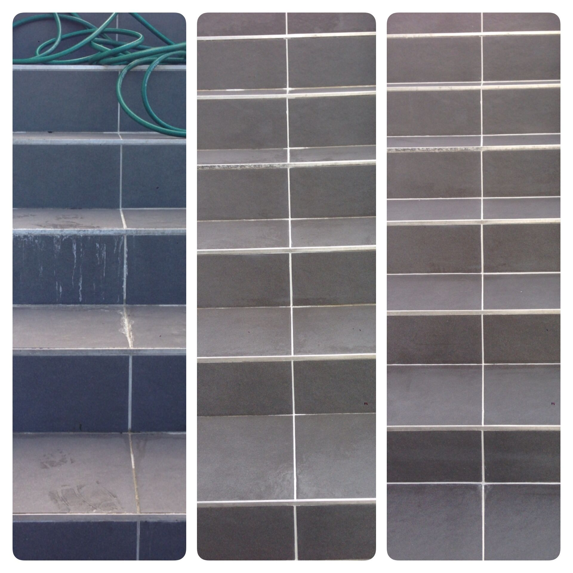 Grout cleaner cleaning