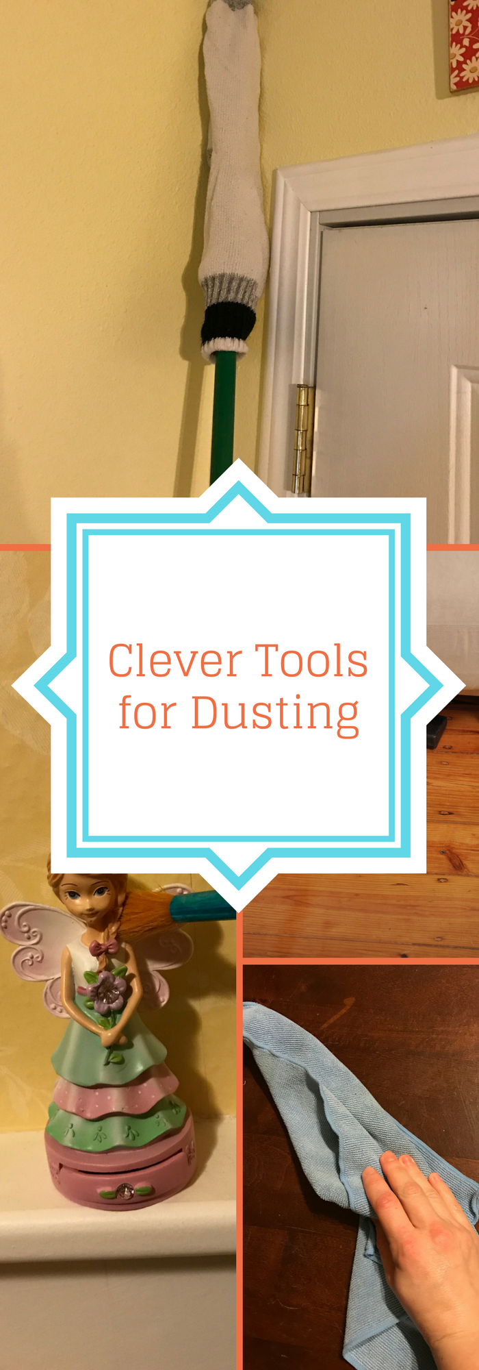 7 Clever Tools for Dusting #geniusmomtricks