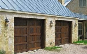 Texas Hill Country Home Designer Bing Images Garage Doors