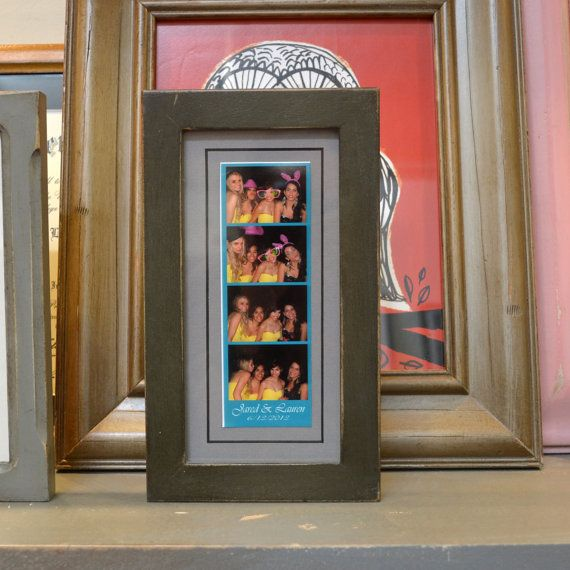 4x8 Picture Frame for 2x6 Photo Booth Strip by signedandnumbered ...