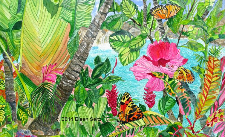 Home - Eileen Seitz, original watercolor paintings, original oil paintings, posters