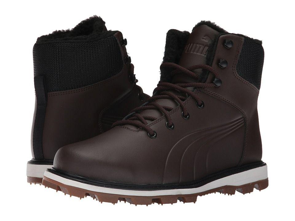 Puma Desierto Sneaker L Men Round Toe Synthetic Brown Sneakers