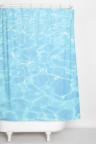 6 Perfect Ocean Shower Curtains For Summer Pool Shower Urban Outfitters Curtains Beach Shower Curtains
