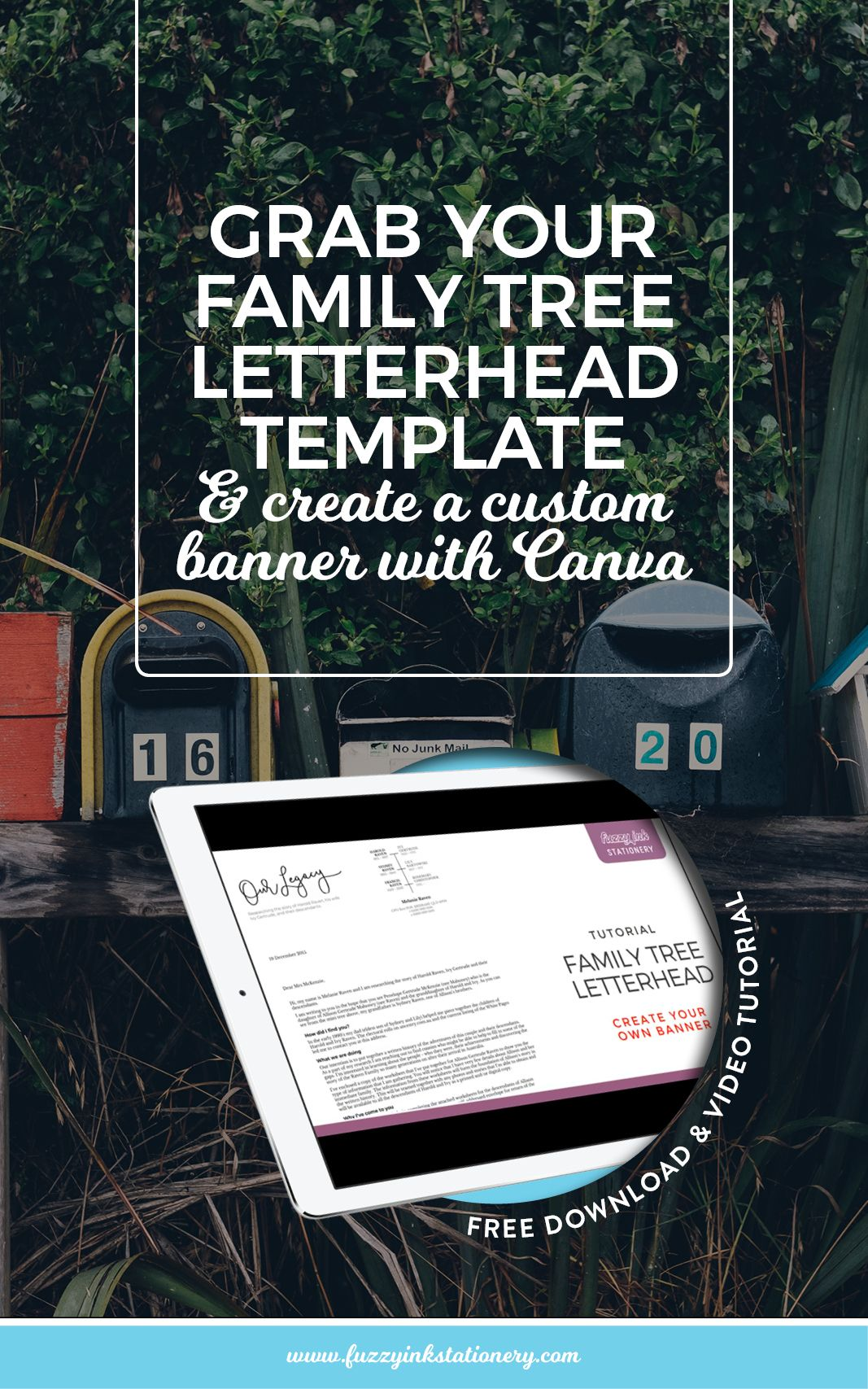 Grab your family tree letterhead template and create a custom banner grab your family tree letterhead template and create a custom banner spiritdancerdesigns Image collections