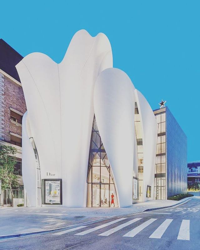 Dior Seul by Christian de Portzamparc  architecture  design  dior  seoul   curvaceous  fashion  white  minimal  organicarchitecture  concept   inspirationist ... 301b248bdbf