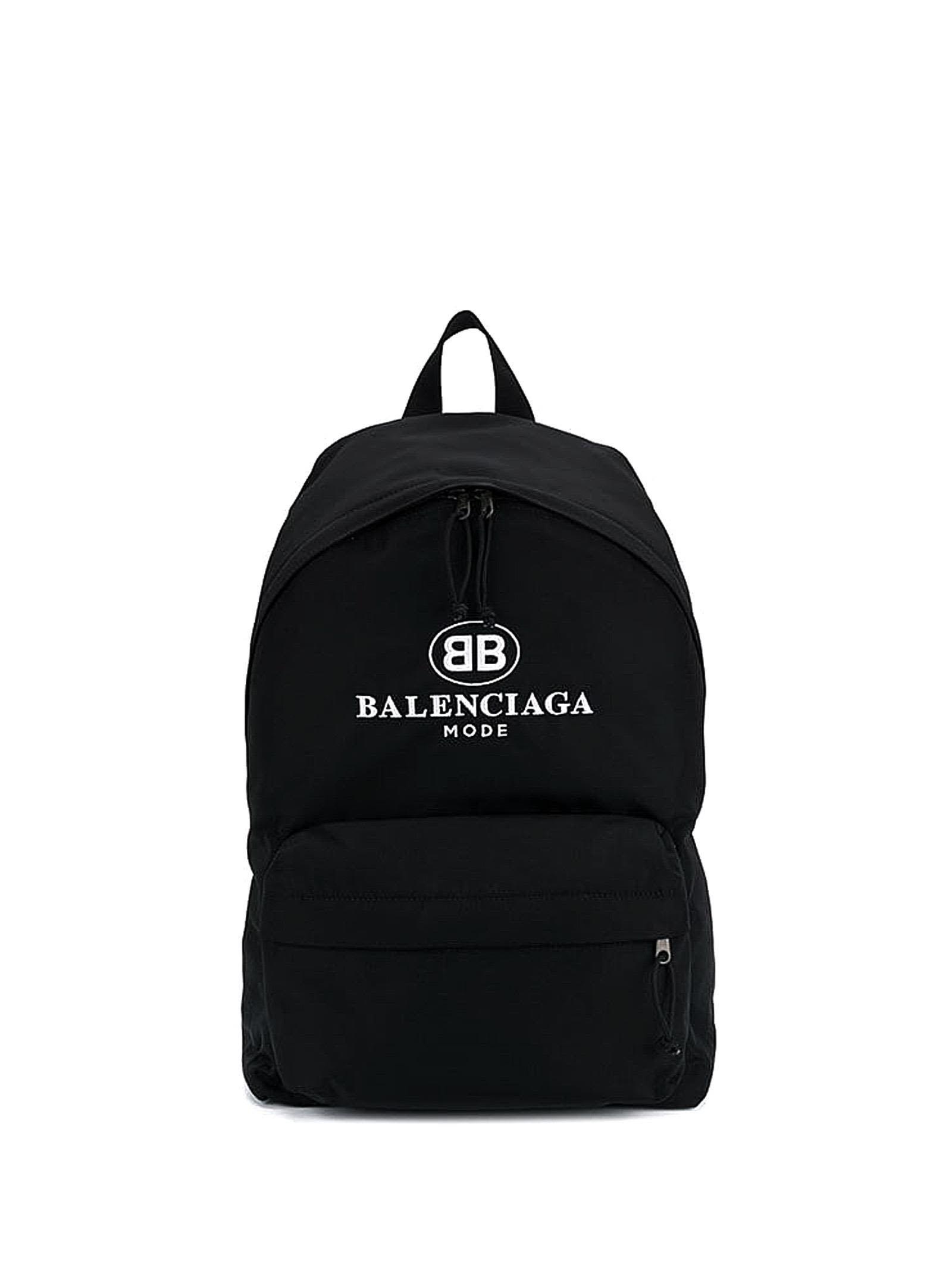 9fcb0db420 BALENCIAGA BLACK EXPLORER MODE BACKPACK.  balenciaga  bags  nylon  backpacks