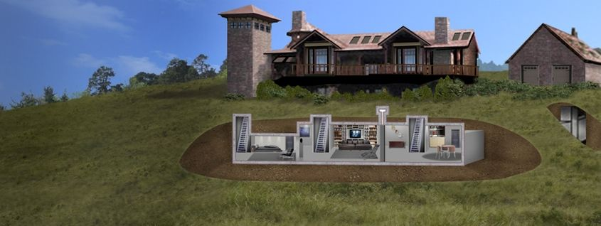Why Are The Rich Investing In Doomsday Underground Bunker