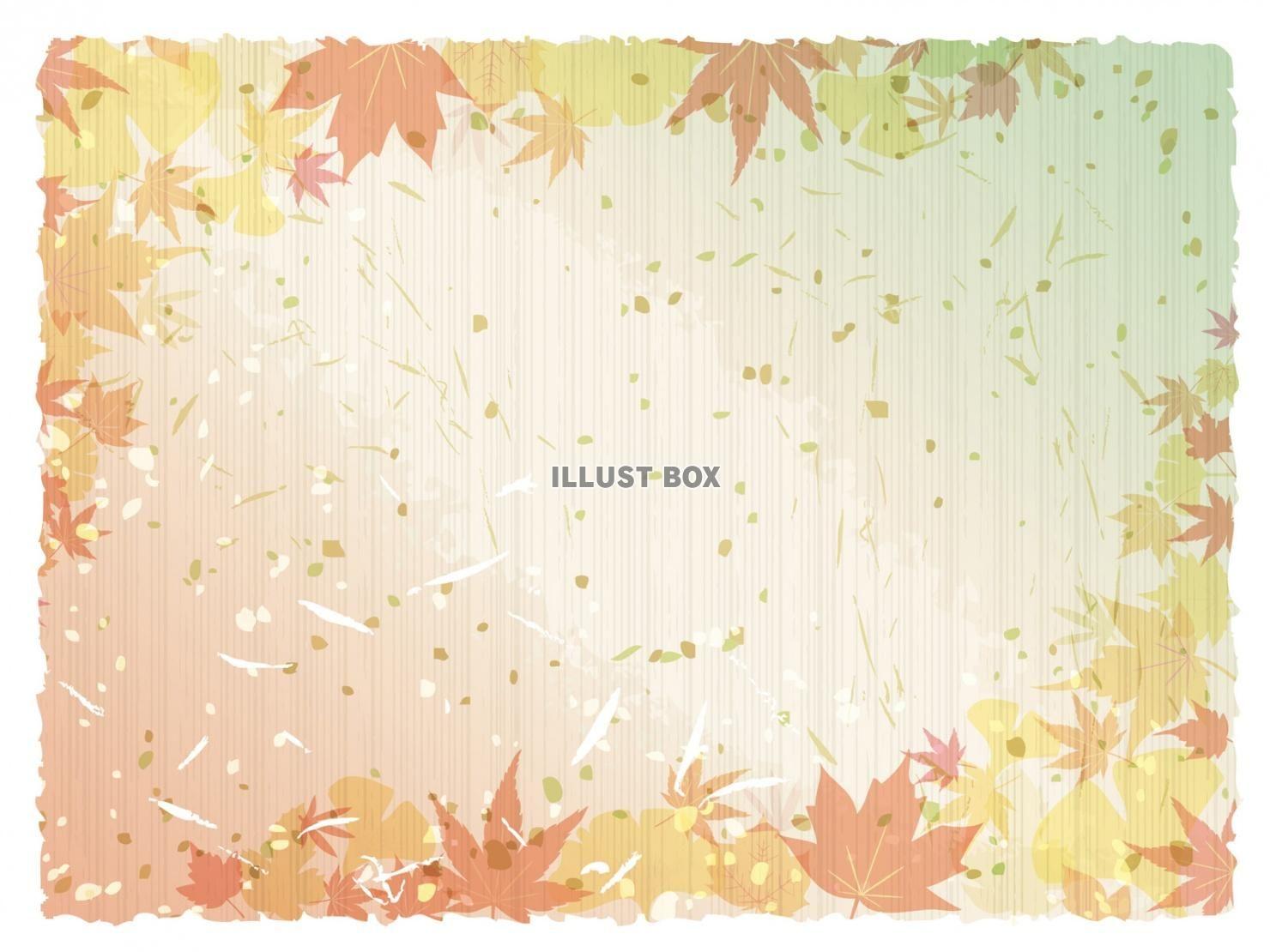 無料イラスト 春夏秋冬 ベスト 11月 紅葉 イラスト イラスト フレーム イラスト 無料 イラスト
