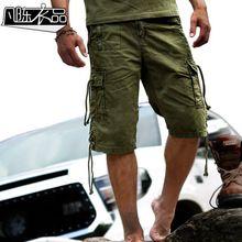 Eğlence takım şort erkek açık çanta pantolon Yaz eğlence plaj gevşek ordu pantolon