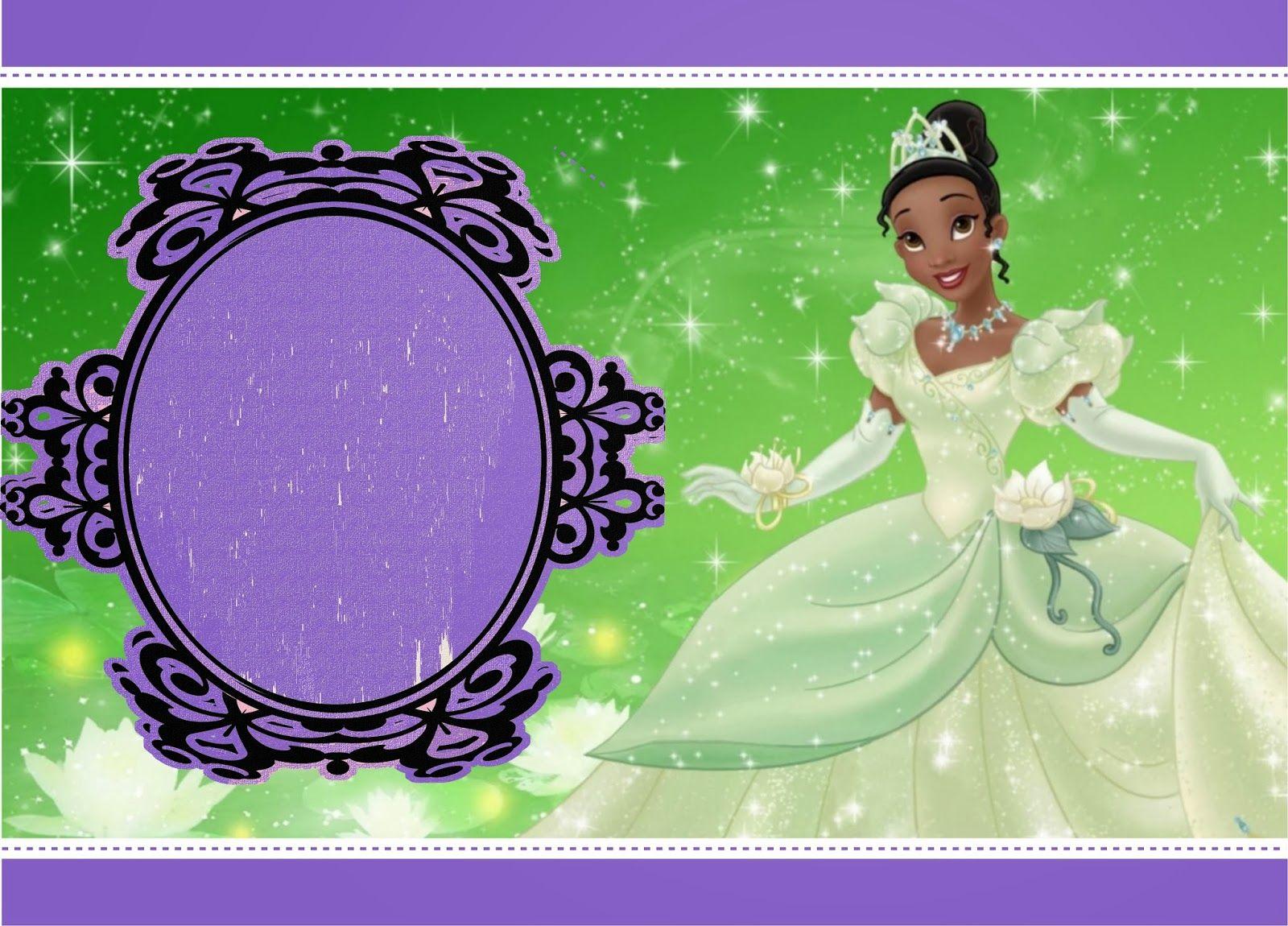 Kit De Personalizados Tema A Princesa E O Sapo A Princesa E O
