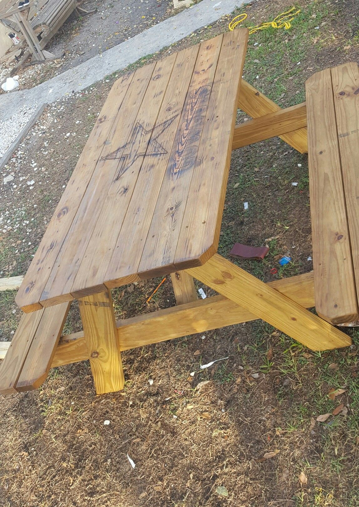 Dallas Cowboys Picnic Table My Finished Projects Pinterest - Dallas cowboys picnic table