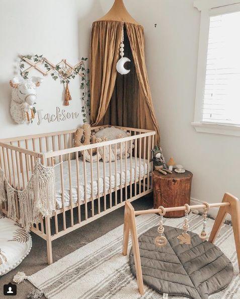 Boho nursery Bebek Odası