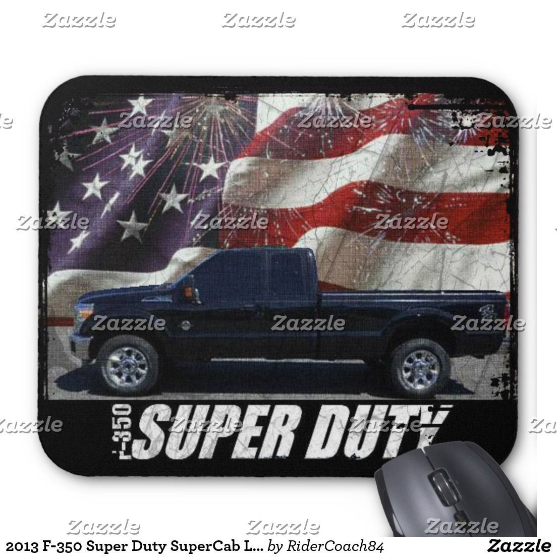 2013 F-350 Super Duty SuperCab Lariat Long Bed 4x4 Mouse Pad