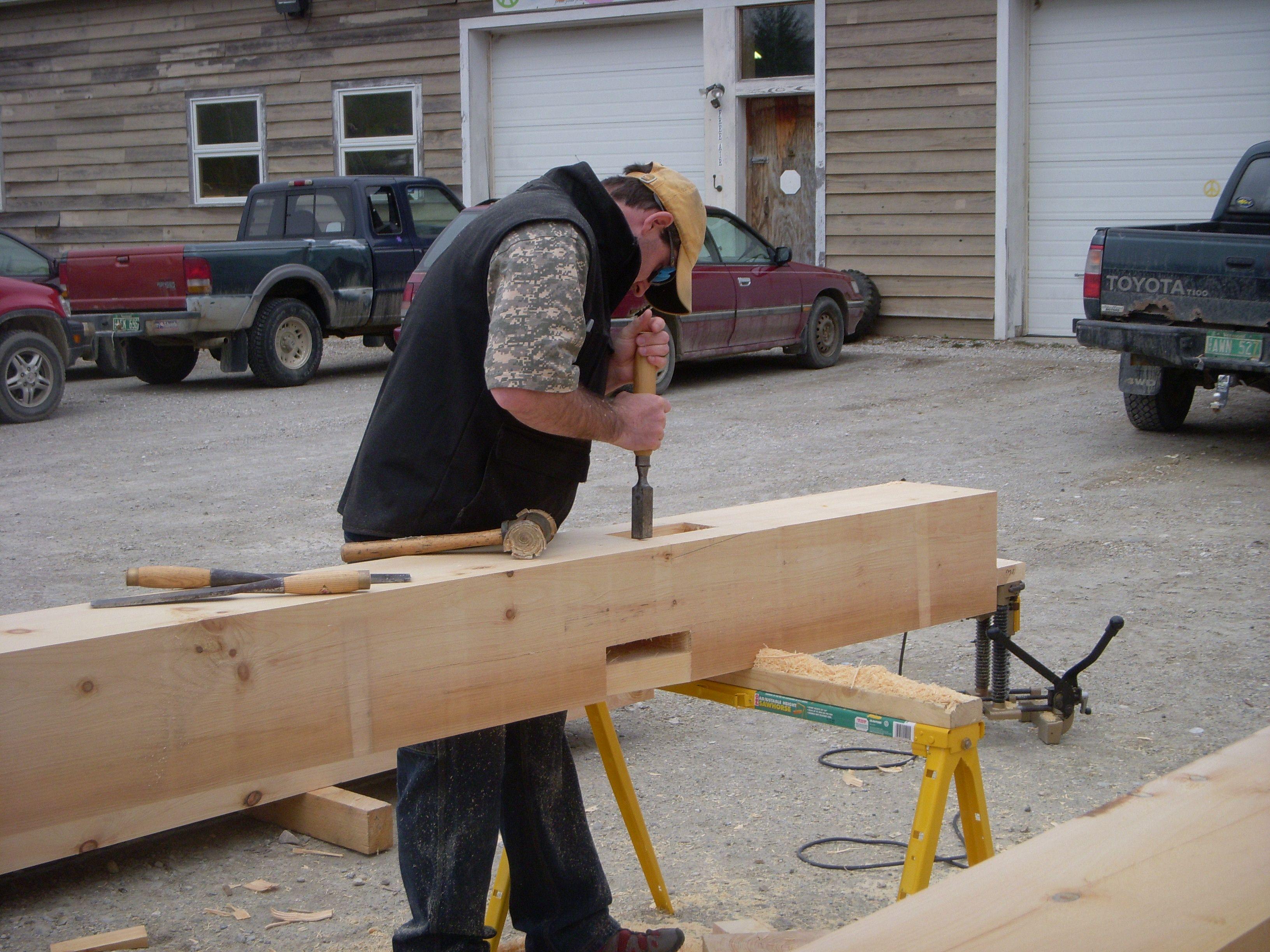 Timber Frame Tools & Cutting | New England Custom Timber