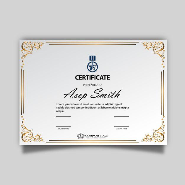 Download Elegant Certificate Template For Free Modeles De