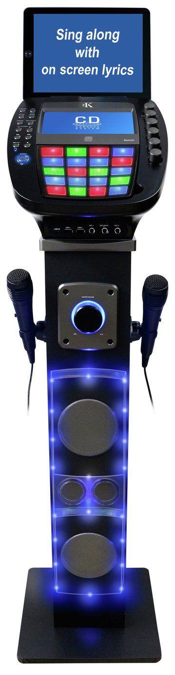 Easy Karaoke EKS878-BT Bluetooth Karaoke Machine