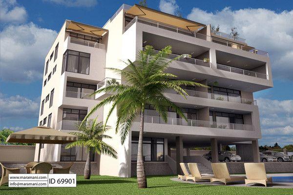 Apartment Complex Floor Plan Id 69901 Building Plans By Maramani Apartment Building Luxury House Plans Apartment Design