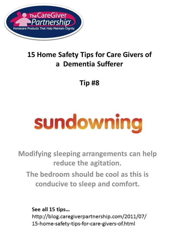 15 Home Safety Tips for Care Givers of Dementia Sufferer   Pinterest ...