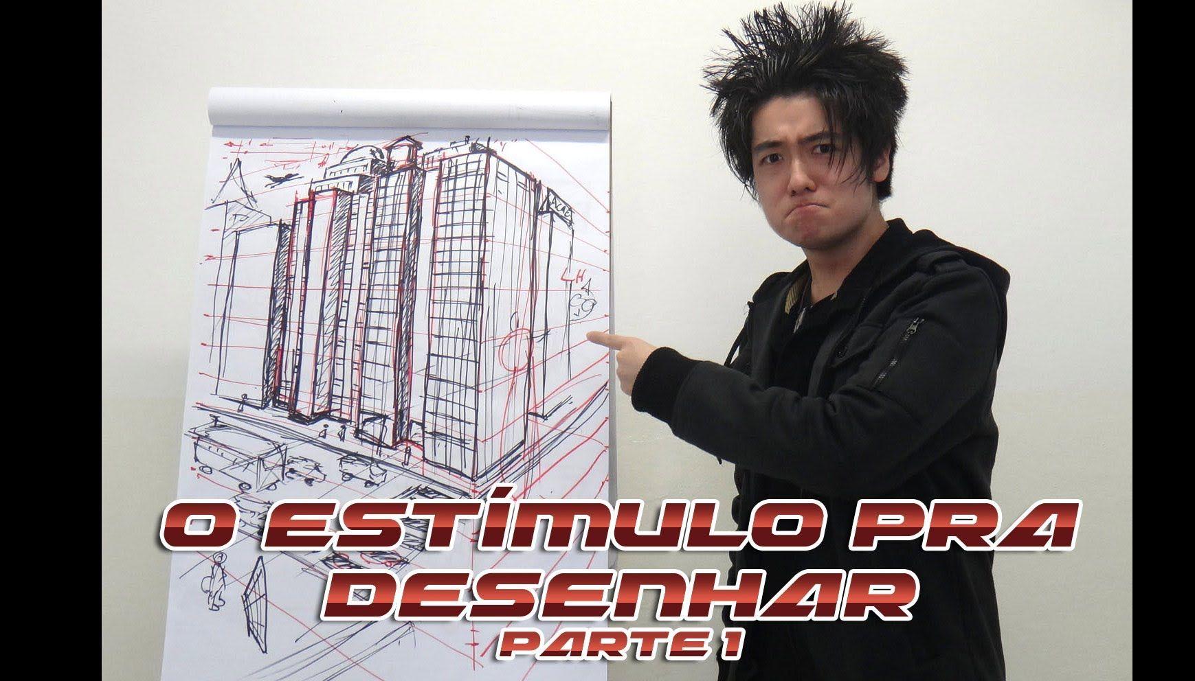 O Estímulo para desenhar Parte 1 - Profissão Desenhista - Crás Conversa ...