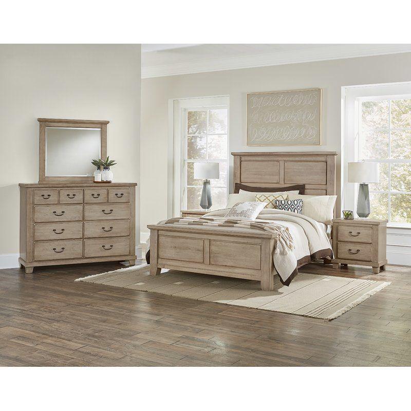 Rambert Panel Configurable Bedroom Set Cherry Bedroom Furniture