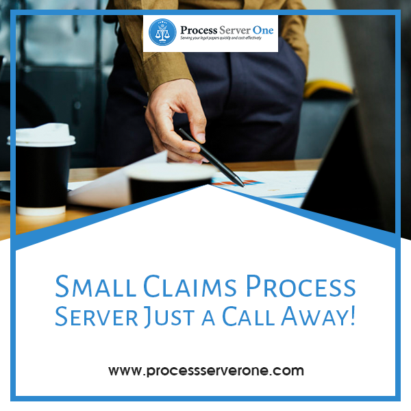 Small Claims Process Server Process server, Get the job