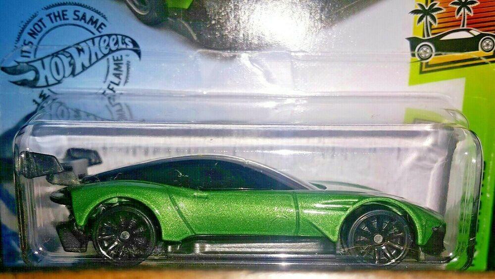 Hot Wheels 2019 Exotics 3 10 Aston Martin Vulcan Green Hotwheels Astonmartin